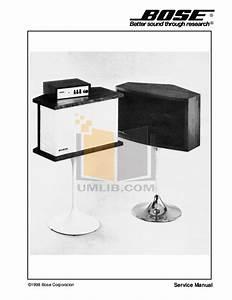 Download Free Pdf For Bose 901 Series Iv Speaker Manual