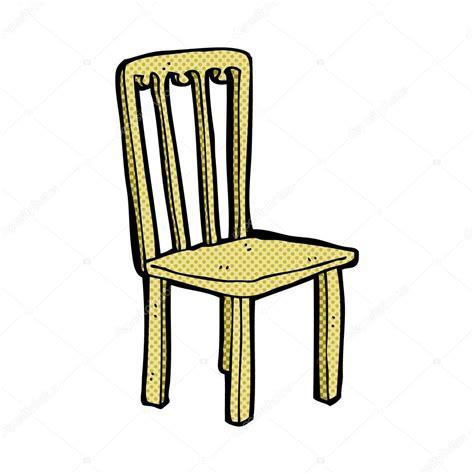 dessin chaise vieille chaise dessin animé comique image vectorielle