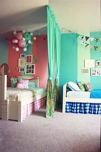 organiser l39espace si 2 enfants partagent la meme chambre With amenagement chambre 2 enfants
