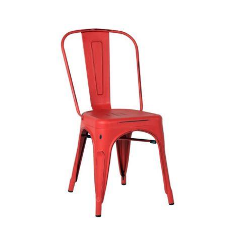 chaise industriel pas cher chaise style industriel mundu fr