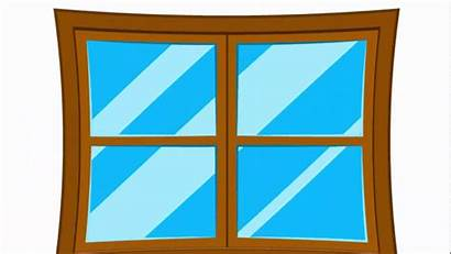Window Clipart Pane Simple Wooden Illustrator Vector