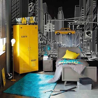 deco chambre jaune et gris deco chambre ado gris et jaune visuel 4