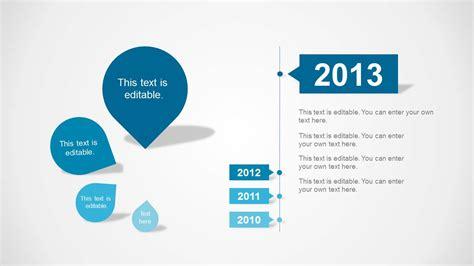 clean timeline template  powerpoint slidemodel