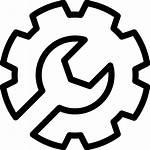 Icon Service Gear Setup Equipment Fee Request