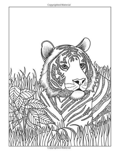 431 best coloring lion tiger images on pinterest adult