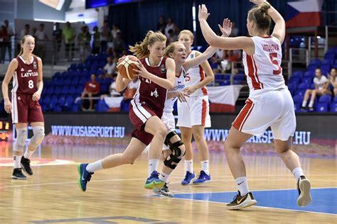U18 meiteņu aizsardzība piespiež kapitulēt Čehiju ...