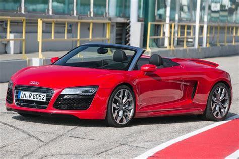 convertible audi red red audi r8 convertible www pixshark com images