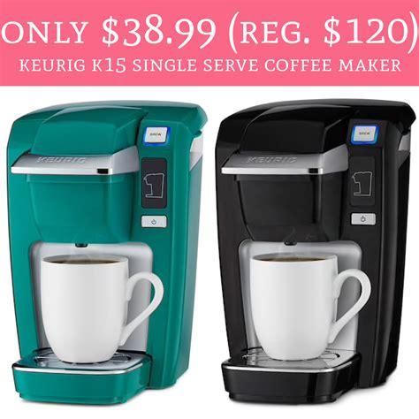 Asian folks make great coffee. Only $38.99 (Regular $120) Keurig K15 Single Serve Coffee Maker - Deal Hunting Babe