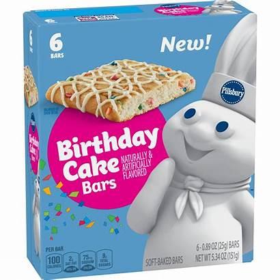 Cake Snack Birthday Pillsbury Bars Cakes 2000