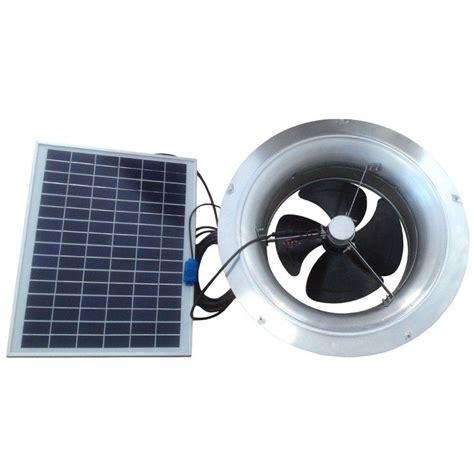 Remington Solar 20 Watt 1280 Cfm Gable Mount Solar