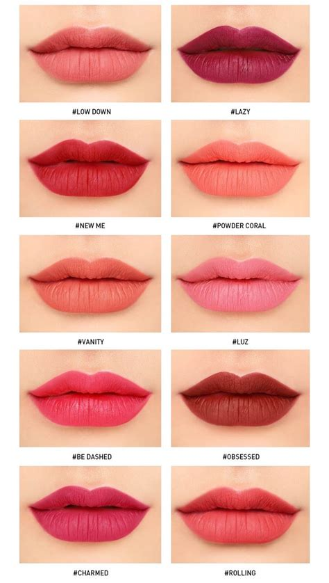 lip color absolutely hooked 3ce liquid lip color lashes in the lush