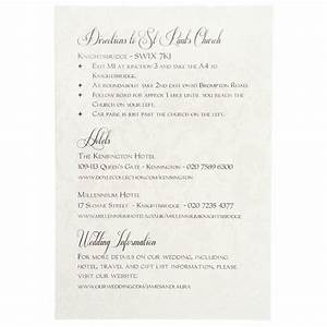 card invitation ideas wonderful information cards for With sample of wedding invitation details
