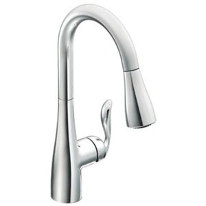ferguson moen kitchen faucets m7594c arbor pull out spray kitchen faucet chrome at