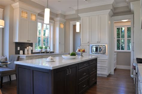 Inspired Revere Pewter Benjamin Moore Traditional Kitchen