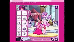 my little pony rarity39s wedding dress designer game youtube With wedding dress designer games