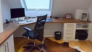 Schreibtisch Aus Arbeitsplatte : schreinerei julian grimm ideen mit holz der schreiner in fellbach homeoffice ~ Eleganceandgraceweddings.com Haus und Dekorationen