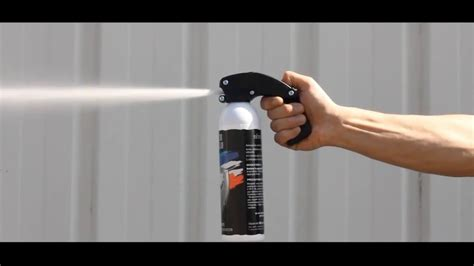 le torche de defense test r 233 el bombe lacrymog 232 ne 500ml gel arme de d 233 fense anti agression