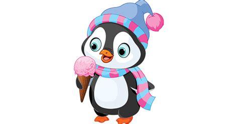 ice cream penguin symbols emoticons