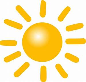 Weather Sunny clip art Free vector in Open office drawing ...