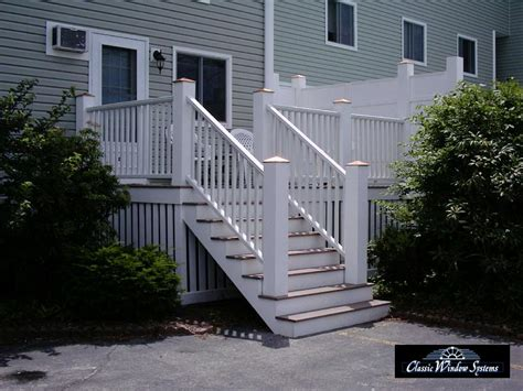 Joist Spacing For Deck Stairs by Composite Deck Veranda Composite Decking Spacing
