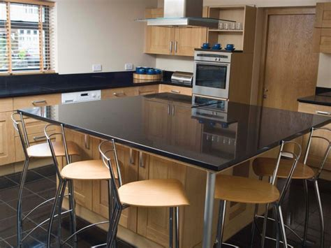 Furniture: Integrated Dining Table Kitchen Bench New House