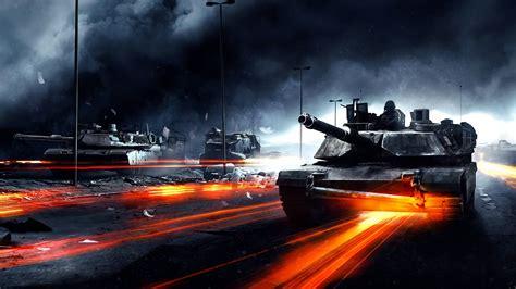 full hd wallpaper battlefield   abrams tank smoke art