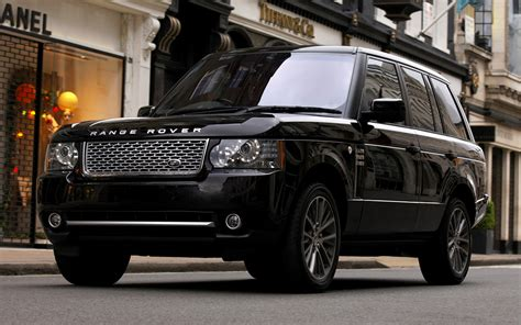 Black Range Rover Wallpaper by 2010 Range Rover Autobiography Black Uk Wallpapers And