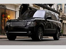Range Rover Autobiography Black 2010 UK Wallpapers and