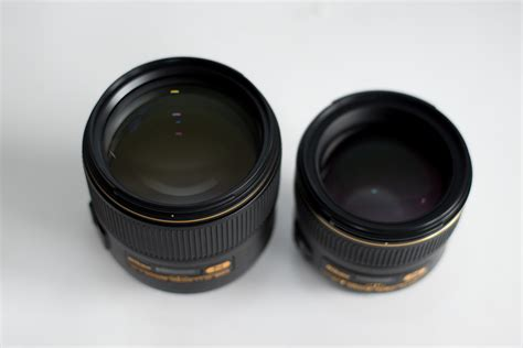 and lens reviews nikon af s nikkor 105mm f 1 4e ed review and comparison