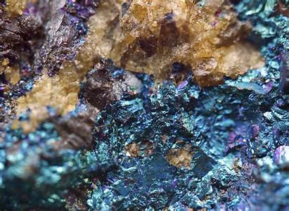 Minerals Facts Interesting Five Copper Iron Macro