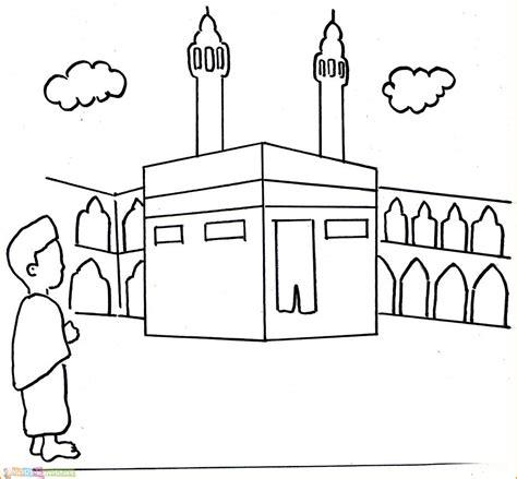 gambar sekolah kartun hitam putih