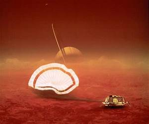 Titan Landing Pictures by Huygens Spacecraft