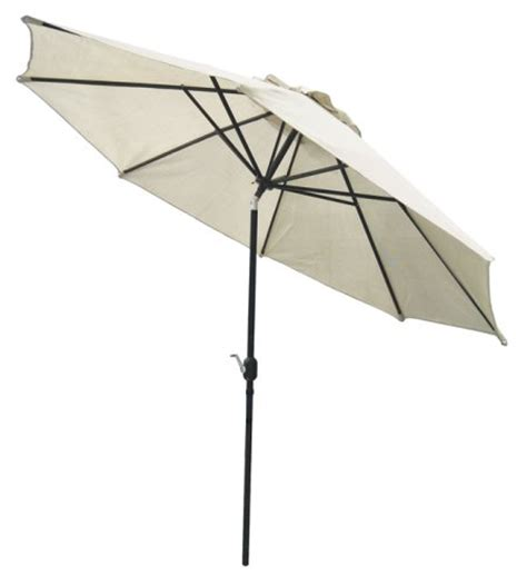 coolaroo 11 patio umbrella with 3 position tilt