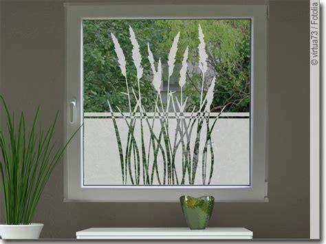 Folie Fenster Sichtschutz Transparent by Sichtschutz Gr 228 Ser Als Fensteraufkleber Mit Pflanzen