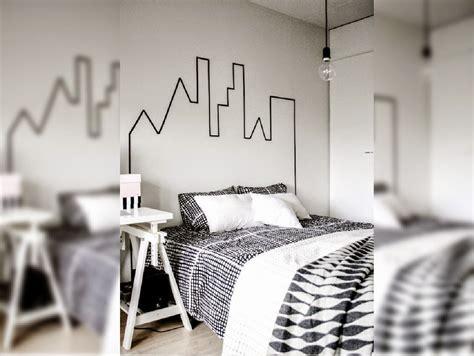 kamar tidur  desain garis garis galerihom