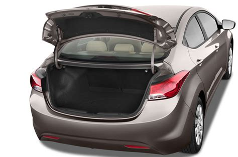 Hyundai Accent Trunk Space by 2012 Hyundai Elantra Limited Editors Notebook