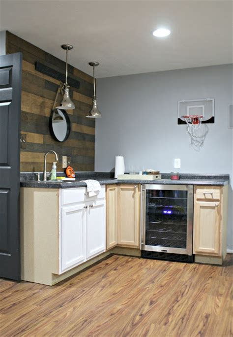 basement kitchen designs changes to the basement kitchenette from thrifty decor 1497
