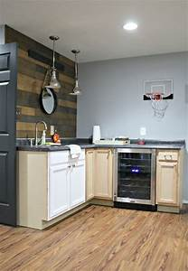 changes to basement kitchenette 817