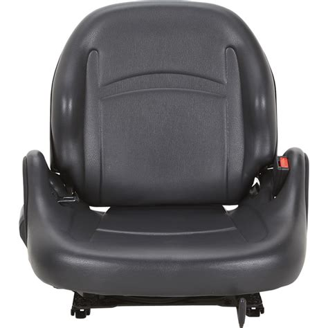 universal replacement forklift seat black model