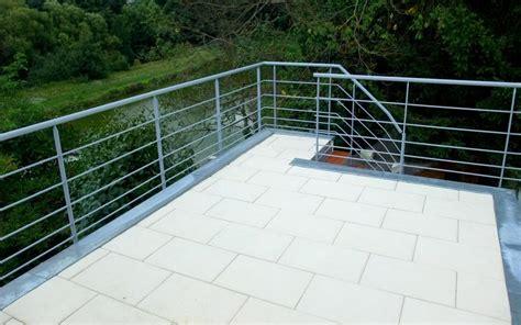 re de terrasse et escalier ext 233 rieur metal concept