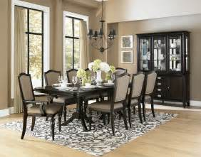 9 dining room set homelegance marston 9 pedestal dining room
