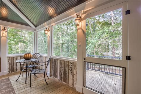 country style screened porch  chesterfield va rva remodeling llc
