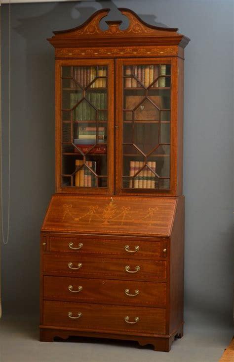 bureau bookcase edwardian bureau bookcase antiques atlas