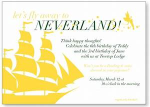 new invitations are up in the shop pencil shavings With peter pan invitation template