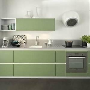 cuisine verte et blanche une inspiration deco a ne pas With cuisine verte et blanche