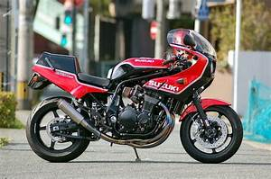 Racing Caf U00e8  Suzuki Gs 1200 Ss By Quarter