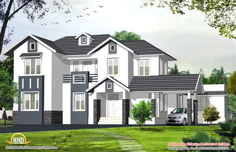 style home designs style home 2424 sq ft kerala home design and