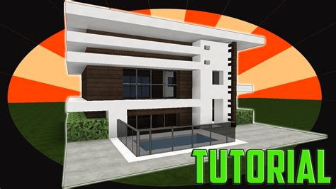 Minecraft  How To Build Modern House  Tutorial Easy