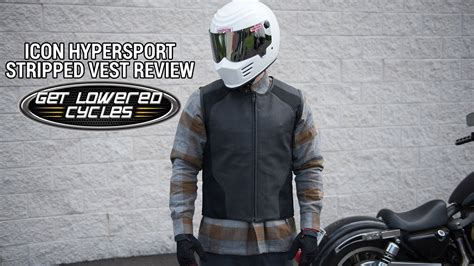 Icon Hypersport Stripped Vest Review