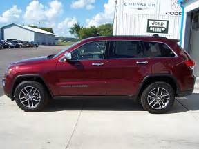 jeep grand cherokee limited 2017 red 2017 jeep grand cherokee limited 4x4 for sale kimball mn